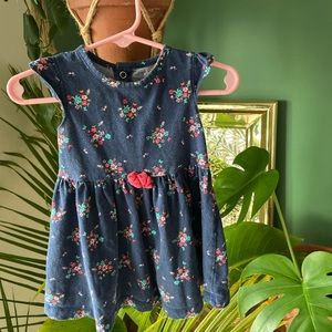 12 Mo Baby Girl Floral Cotton Dress